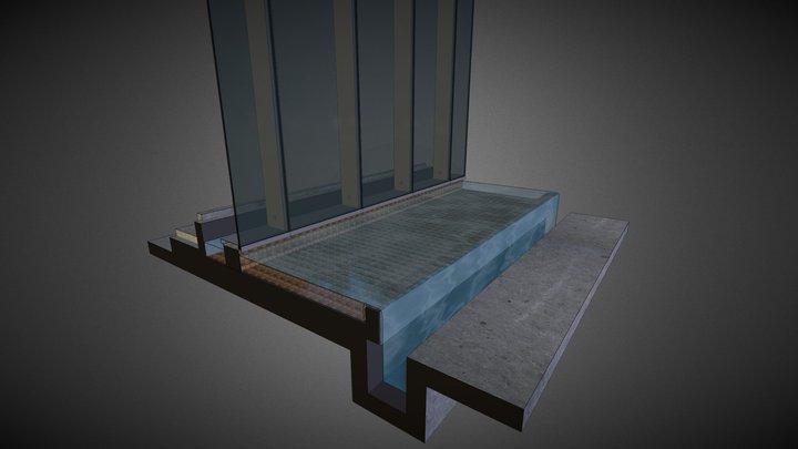 Podium Facade @ Pools - Option 4 3D Model