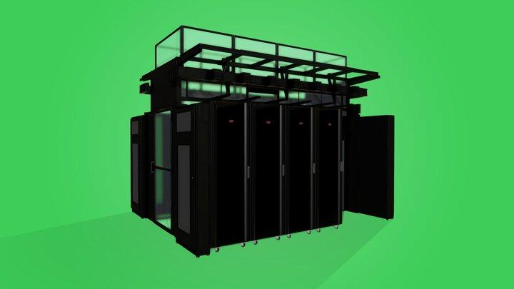 EcoStruxure Pod Data Center 3D Model