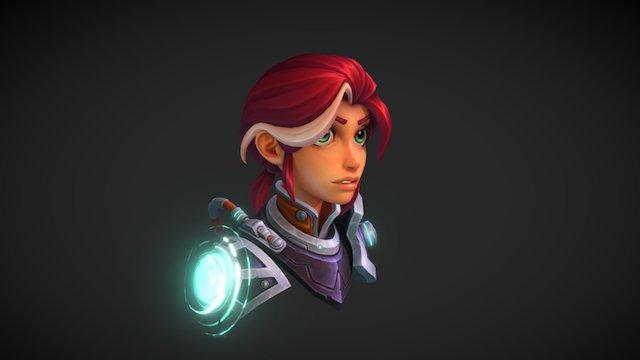 Leyla 3D Model