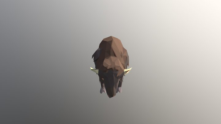 Bison - Prehistoric Pack 3D Model