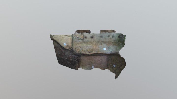 Fornace via Trebbiola a Piacenza - Sez. T-A 3D Model