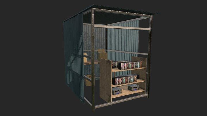 Market stall / Sleeping Dogs Universe 3D Model