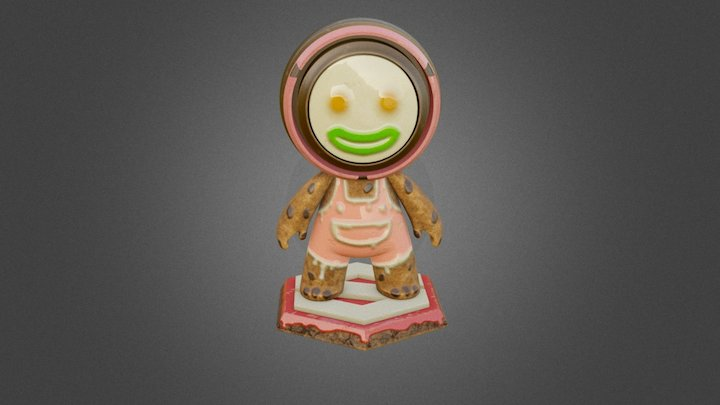 MAT The Candy Cookies 3D Model