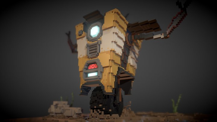 """""""THE ROBOTS ARE COMING!"""" 3D Model"""