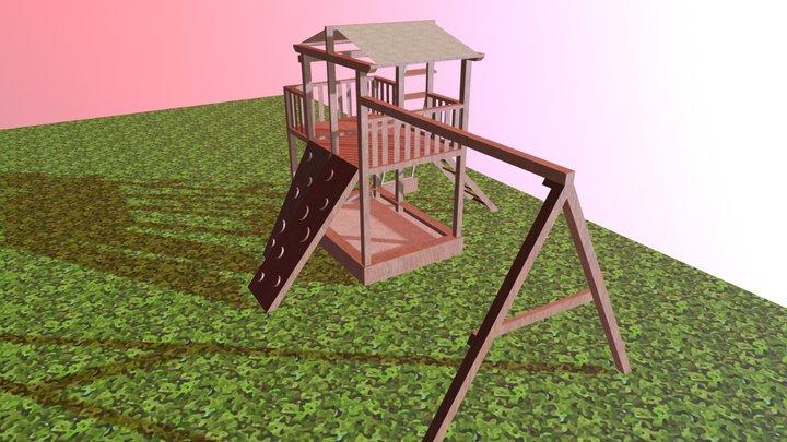 """Детская игровая площадка """"Обухово"""" 3D Model"""