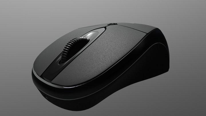 Sentey Mouse 3D Model
