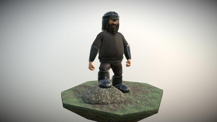 Dwarf 3D Model