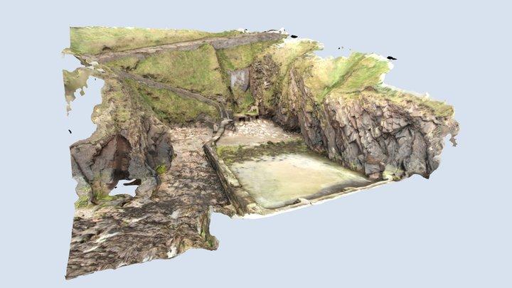 Old Swimming Pool, Peel 3D Model
