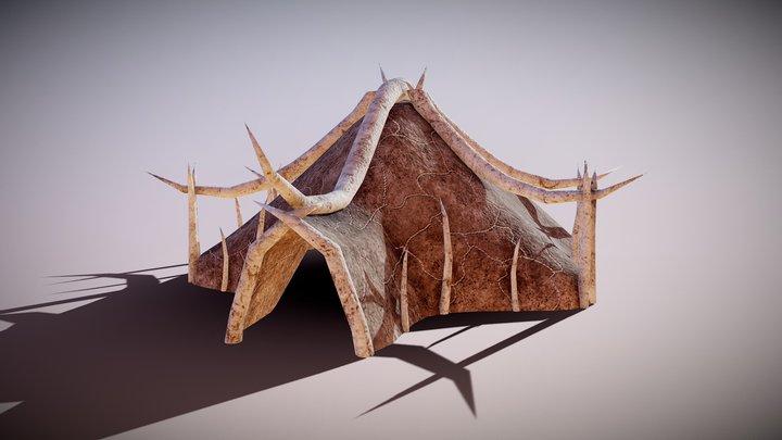 Orcish Tent 3D Model