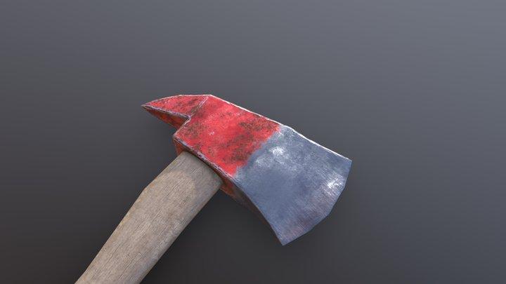 fire axe 3D Model