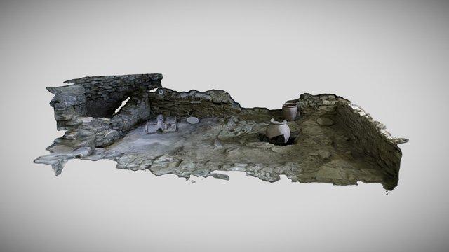 Scavo area del cassero 3D Model