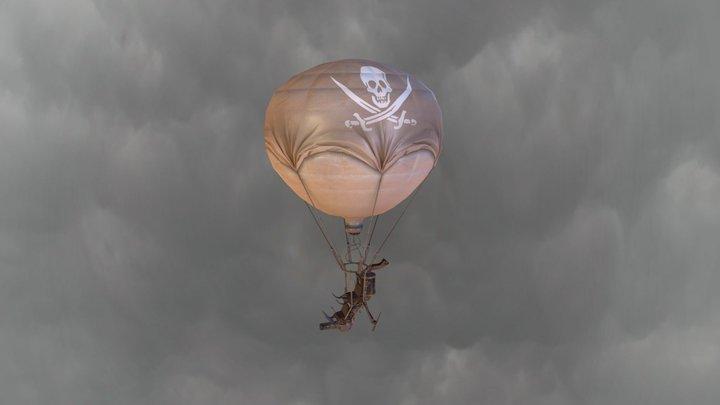 Battle Balloon  3D Model