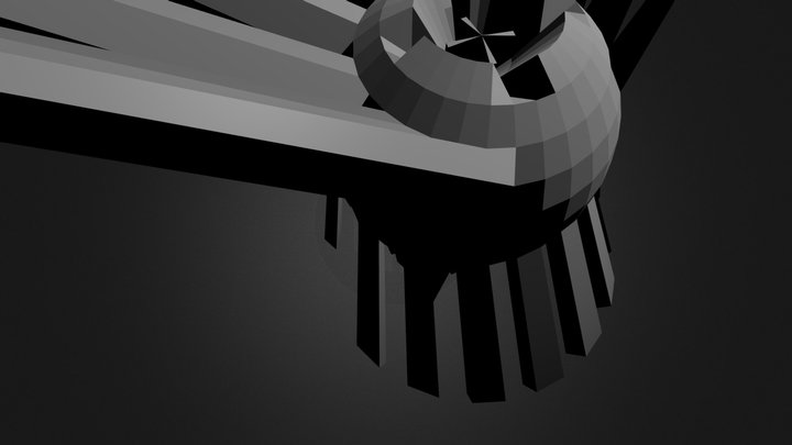 The Lost Building 3D Model