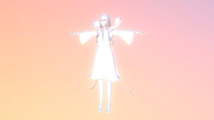 Goddess 3D Model