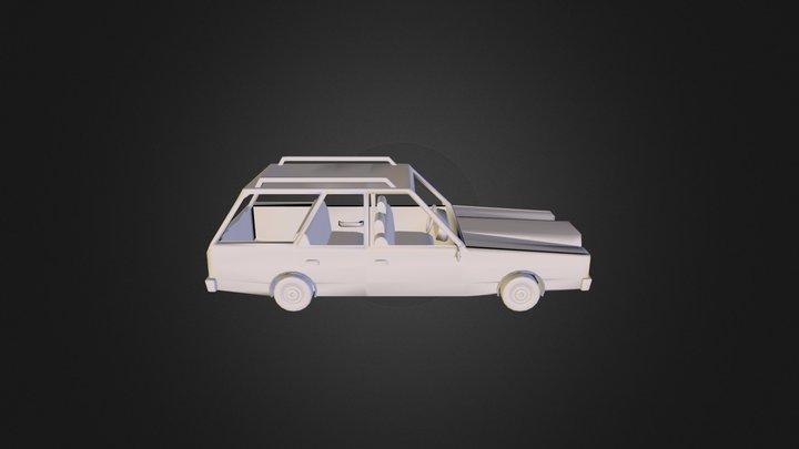 Dodge Aspen Station Wagon 3D Model