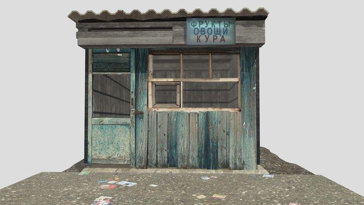 abandoned stall |homework #9 3D Model