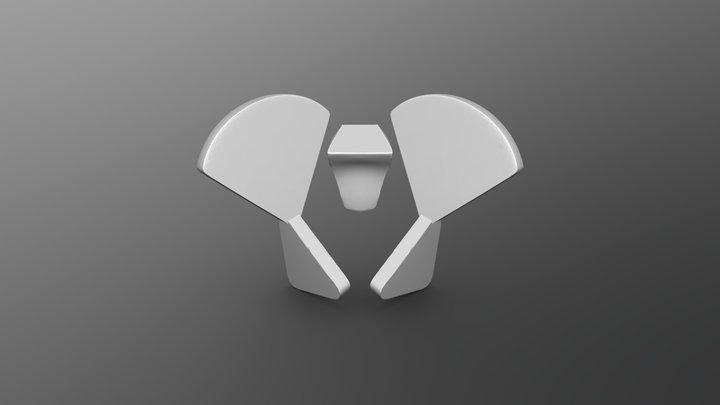 Simplified Pelvis Planes 3D Model