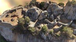Great Zimbabwe: Hill Complex 3D Model
