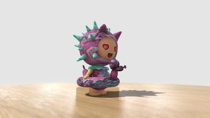 DIY Art-Toy (Generated Exemple #6) 3D Model