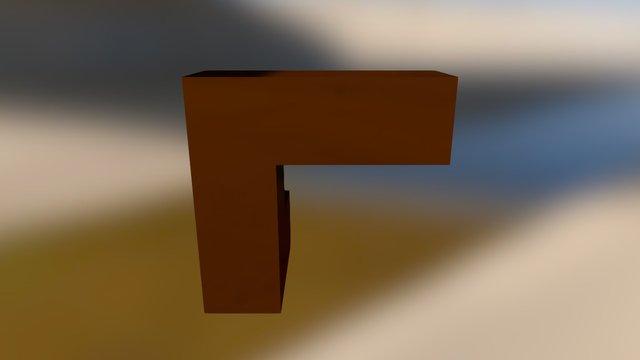 Brown Embed 3D Model
