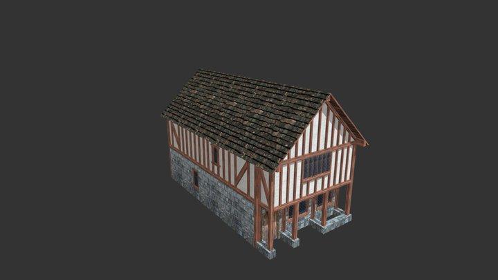 Medieval Building 02 3D Model