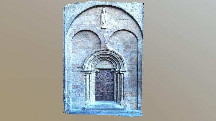 Portada norte Catedral de Tui. 3D Model