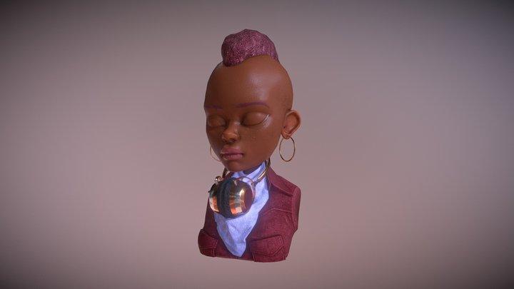 HEAJ GAP Funky_06/18_Sixtine Thillaye du Boullay 3D Model