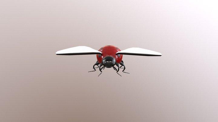LadyBug Textures 3D Model