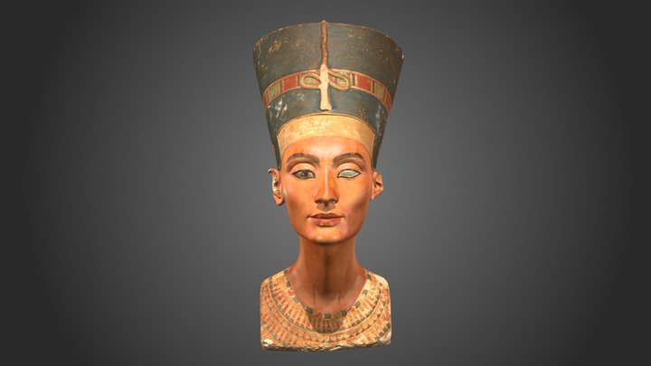 BUST OF NEFERTITI, FOIA Results 3D Model