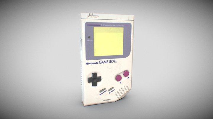 Original Gameboy 3D Model