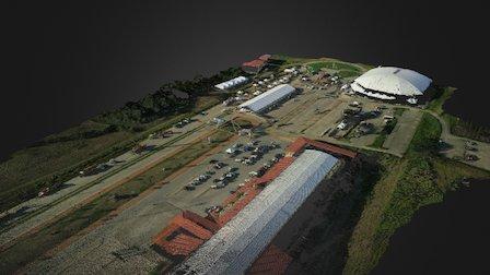 Villa-olimpica-sjm-guarico-venezuela 3D Model
