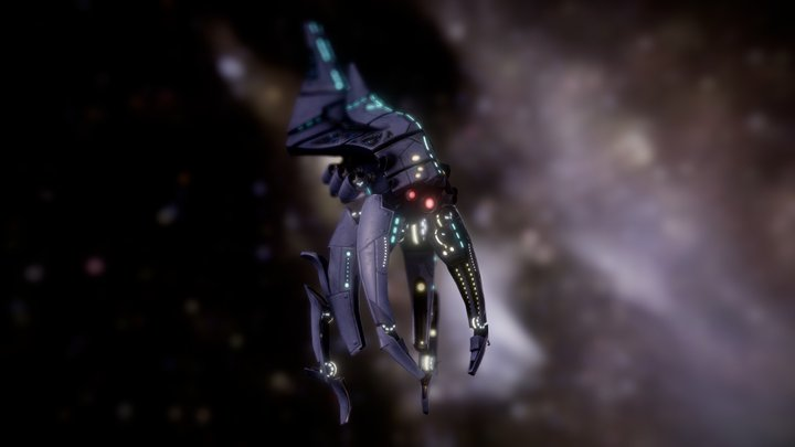 Mass Effect - Harbinger Reaper 3D Model