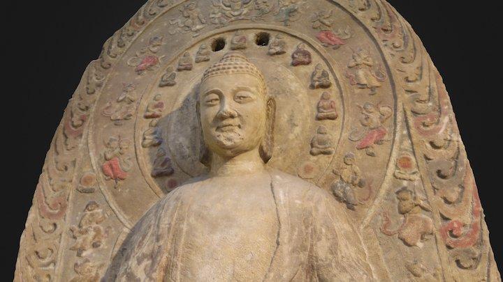 Buddha Statue in the TaiHe 3D Model