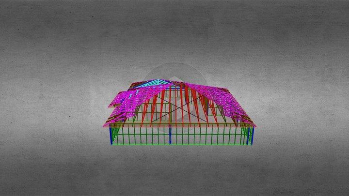 Lot 227 Wade Trusses 3D Model