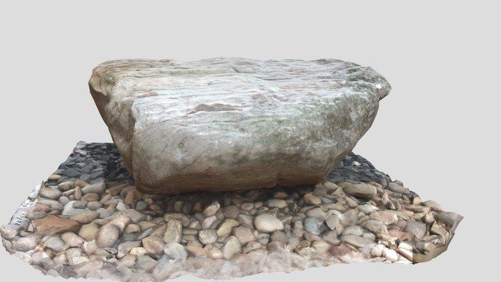 Rock Garden Sample T5 3D Model