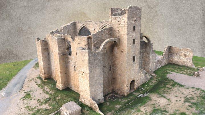 Grange cistercienne de Fontcalvy 3D Model