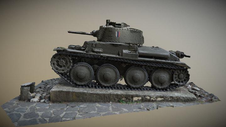 Tank LT38 3D Model