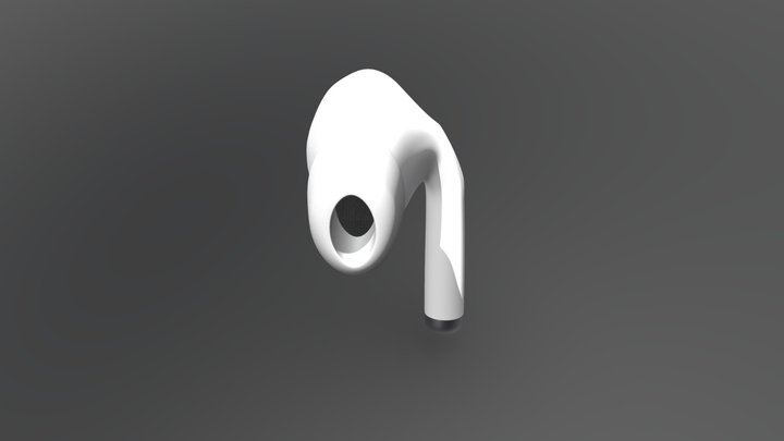 Airpod Pro Alone 3D Model