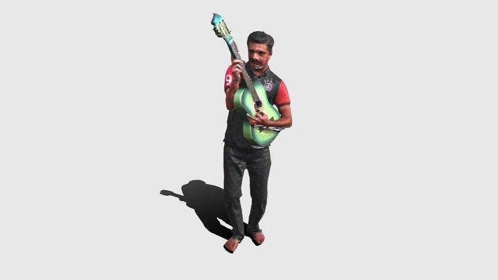 20200530- Pinak- Guitar 3D Model