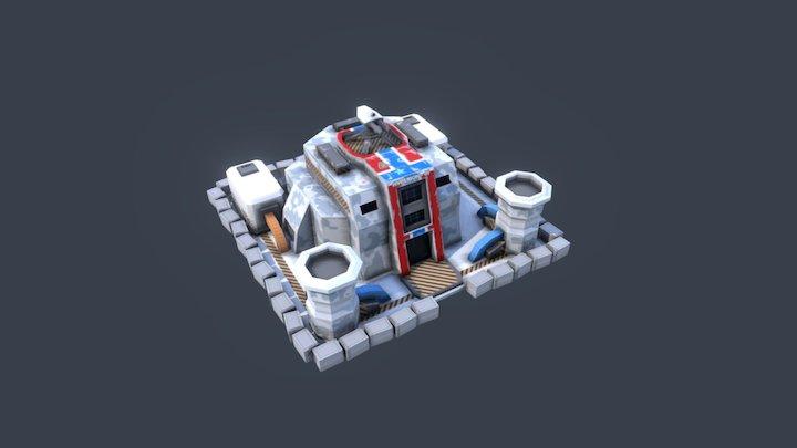 R.T.S. Mainbase 3D Model