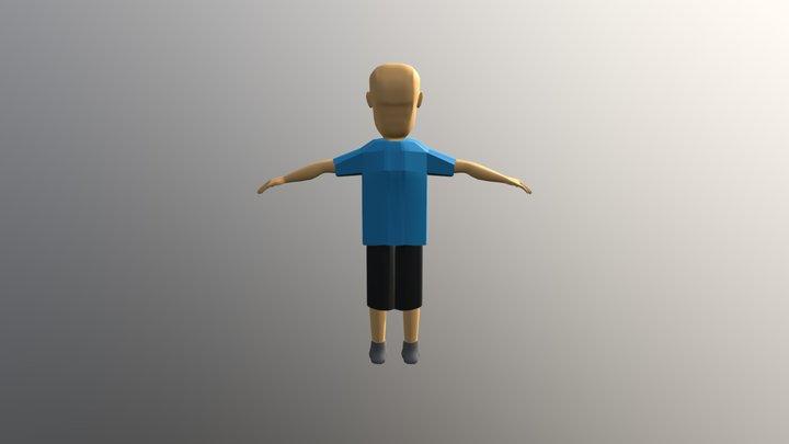 Character Week 7 3D Model