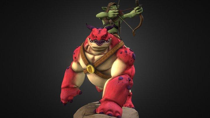 Beast X2 KF 3D Model
