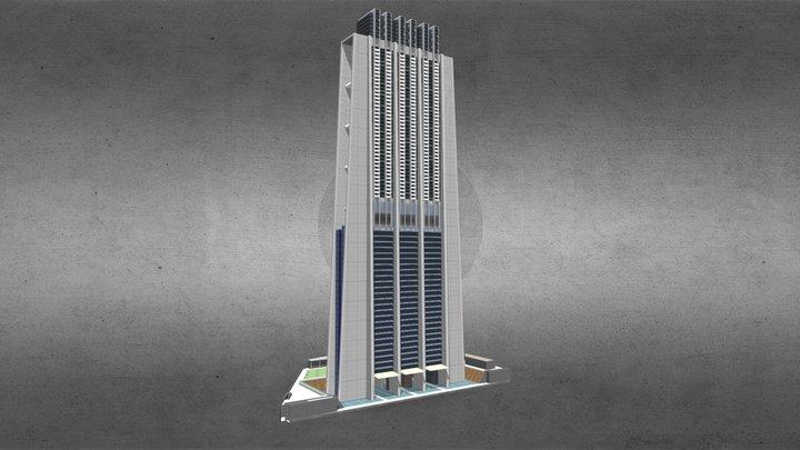 Index Tower - Dubai 3D Model