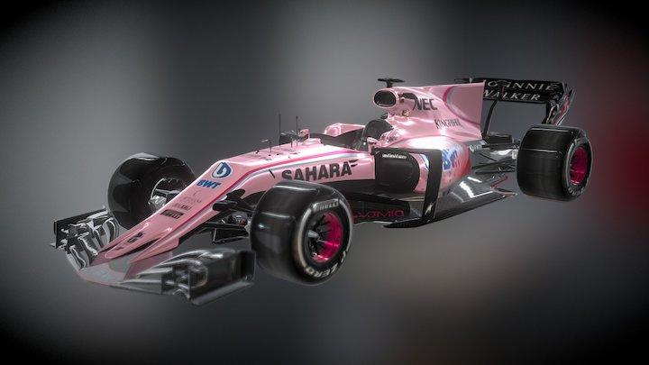 Force India 3D Model