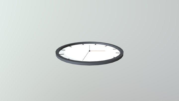 Jam Dinding 3D Model