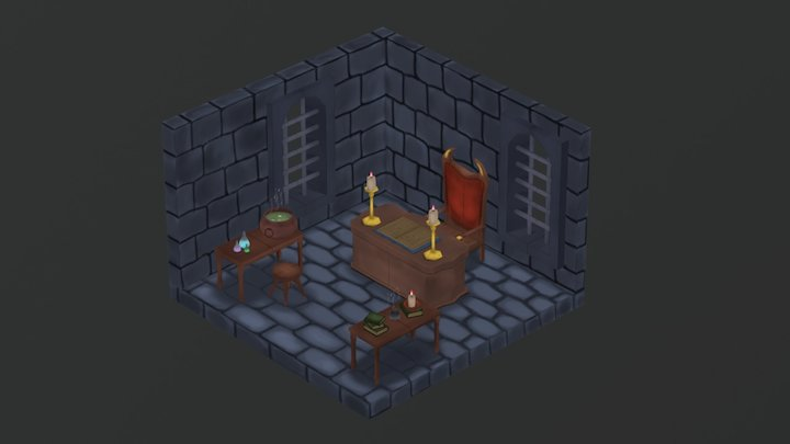 The Dark Laboratory 3D Model