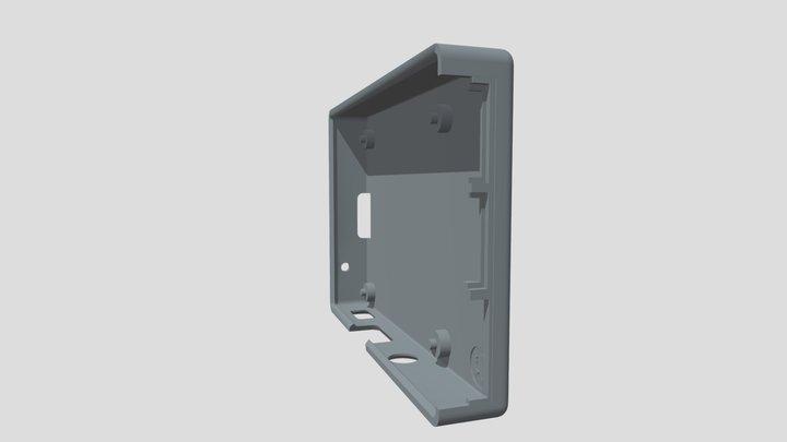 Raspberry Pi 3 Case (No Screws) Bottom 3D Model