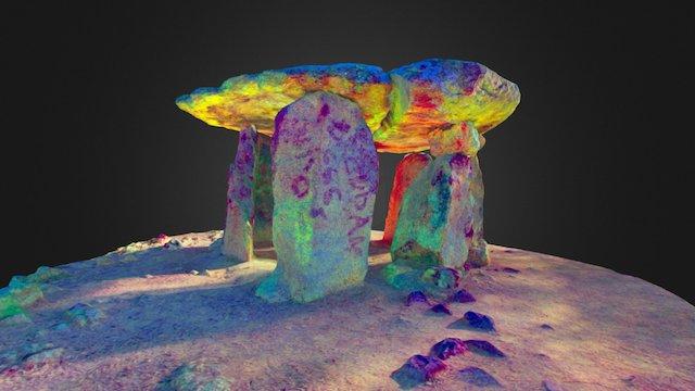Dolmen de la Pedra Gentil 3D Model