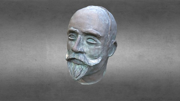 Francesc Ferrer i Guàrdia 3D Model