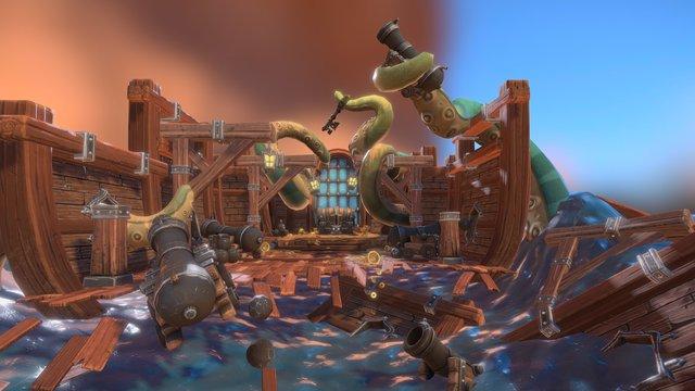 Kraken Attack! 3D Model